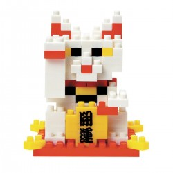 NANOBLOCK mini series Maneki Neko Cat NBC-031