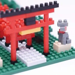 NANOBLOCK Sights to see series: Inari Shrine NBH-108