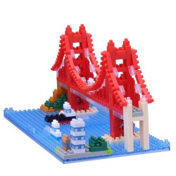 NANOBLOCK Sights to See series: Golden Gate Bridge NBH-116