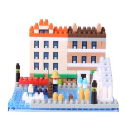 NANOBLOCK Sights to See series: Water City of Venice NBH-092