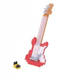 NANOBLOCK Mini series: Electric Guitar Red NBC-171