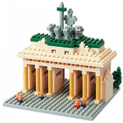 NANOBLOCK Sights to See series: Brandenburg Gate NBH-031