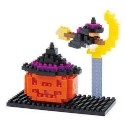 NANOBLOCK Holiday series: Jack-o-Lantern NBC-097