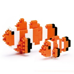 NANOBLOCK Mini series: Clown Fish NBC-002