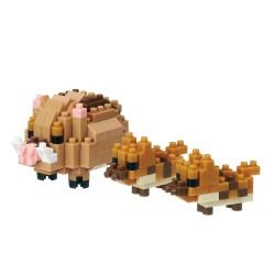 NANOBLOCK Mini series: Wildschwein NBC-285