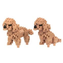NANOBLOCK Mini series Race de chien Caniche jouet NBC-252