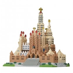 NANOBLOCK Deluxe: Sagrada Família NB-028