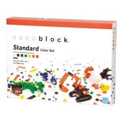 Standard jeu de couleurs NB-014 NANOBLOCK mini bloques de...