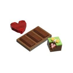 Chocolat NBC-290 NANOBLOCK mini bloques de construction japonaise |...