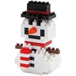 Bonhomme de neige NBC-027 NANOBLOCK mini bloques de construction...