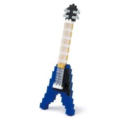 Guitare électrique Blue NBC-095 NANOBLOCK mini bloques de...