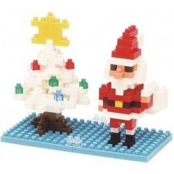 Weihnachtsmann NBC-099 NANOBLOCK der japanische mini Baustein |...