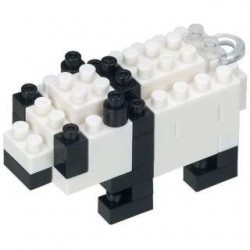 Panda NBS_002 NANOBLOCK the...