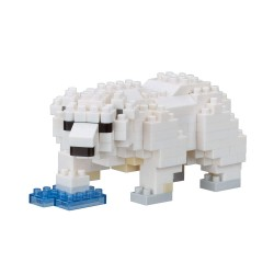 Polar Bear NBC-294 NANOBLOCK the Japanese mini construction block  ...