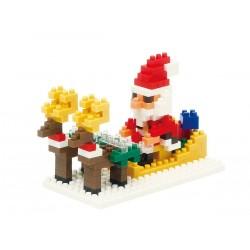 Père Noël et des rennes...