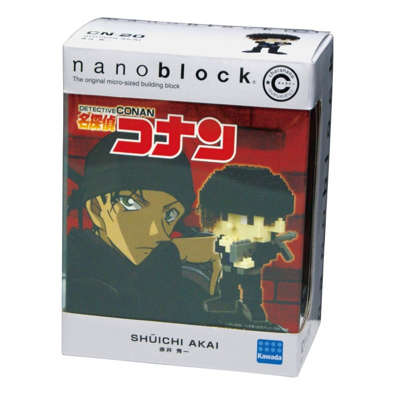 Akai Shuichi (Detektiv Conan) CN-20 NANOBLOCK der japanische mini Baustein