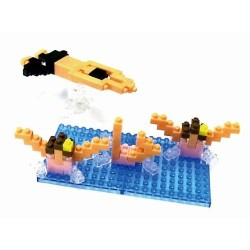 Swimming NBCB-001 NANOBLOCK...