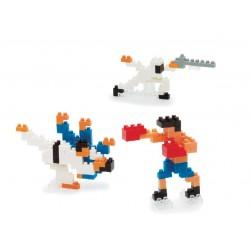 Art martial NBCB-003 NANOBLOCK, mini bloques de construction...
