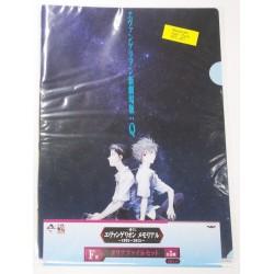 EVANGELION folder clear file (set of 2) with shinji, kaoru