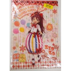 MADOKA MAGICA dossier chemise portefeuille avec kyoko, robe de Pâques