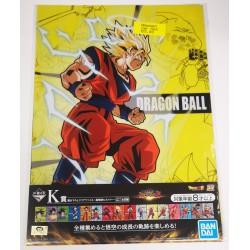 Dossier clair DRAGONBALL (ensemble de 2) avec son goku saiyajin,...