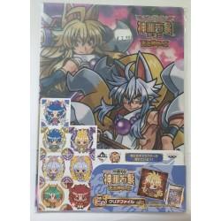 SHINRABANSHO CHOCOLATE folder clear file Hakumen no Sai