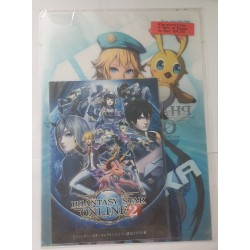 PHANTASY STAR ONLINE 2 folder clear file (set) with Rappy