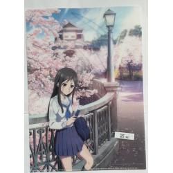 Hanasaku Iroha dossier chemise portefeuille Minko Tsurugi