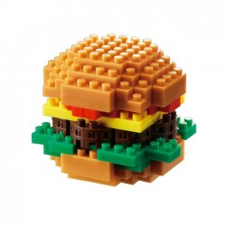 NANOBLOCK Mini series: Hamburger