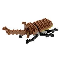 Scarabée-rhinocéros japonais IST-003 NANOBLOCK, mini bloques de...