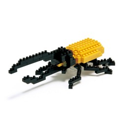 Hercules Beetle IST-001 NANOBLOCK the Japanese mini construction...