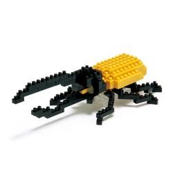 Scarabé Dynaste Hercule IST-001 NANOBLOCK, mini bloques de...