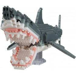 Great White Shark (Deluxe) NBM-027 NANOBLOCK the Japanese mini...