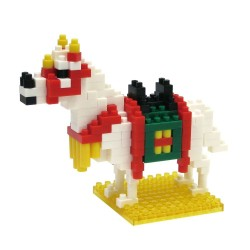 White Horse NBC-101 NANOBLOCK the Japanese mini construction block...