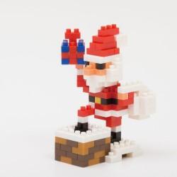 Père Noël sur la cheminée NBC-127 NANOBLOCK mini bloques de...