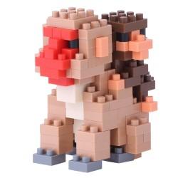 Mother & Baby Monkey NBC-162 NANOBLOCK the Japanese mini...
