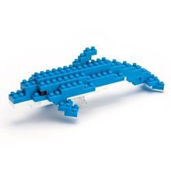 Bottlenose Dolphin (old version) NBC-003 NANOBLOCK | Miniature series