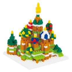 Cathédrale Saint-Basile NBH-051 NANOBLOCK, mini bloques de...