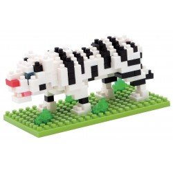 Tigre blanc NBC-056 NANOBLOCK | Miniature series