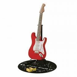 Guitare électrique rouge...