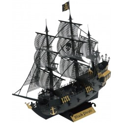 Navire pirate noir Deluxe...