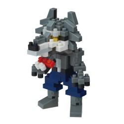 Loup-garou NBC-313 NANOBLOCK, mini bloques de construction...