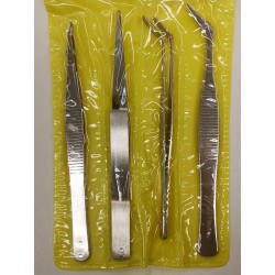 Tweezers for paper (set of 4)