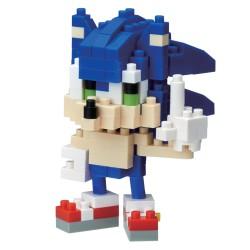 Sonic NBCC-081 NANOBLOCK recontre Sonic the Hedgehog