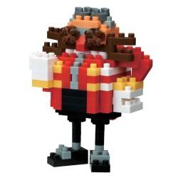 Docteur Eggman NBCC-083 NANOBLOCK recontre Sonic the Hedgehog
