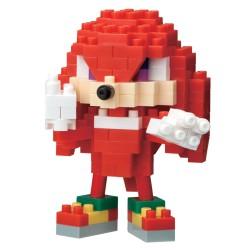 Knuckles NBCC-084 NANOBLOCK recontre Sonic the Hedgehog