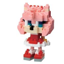 Amy Rose NBCC-085 NANOBLOCK recontre Sonic the Hedgehog