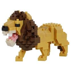 Lion (nouvelle ver.) NBC-326 NANOBLOCK mini bloques de construction...