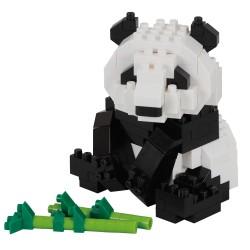 Panda géant (nouvelle ver.) NBC-328 NANOBLOCK mini bloques de...