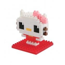 Hello Kitty NBCC-010 nanoblock recontre Hello Kitty